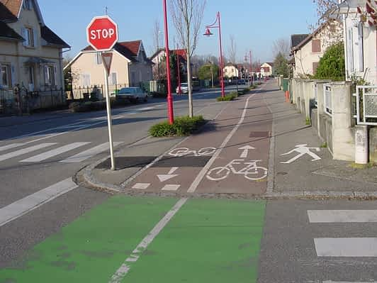 Bike and Pedestrian Lanes Mulhouse #3
