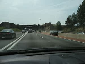Hard Shoulder Lane on Interstate 66 in Northern Virginia