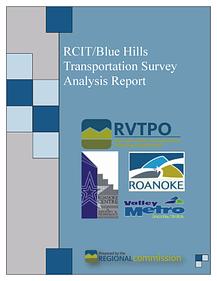 RCIT Blue Hills Transportation Survey Analysis Cover