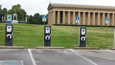 Electric Vehicle Charging Stations at Public Parking - Nashville (2) - small